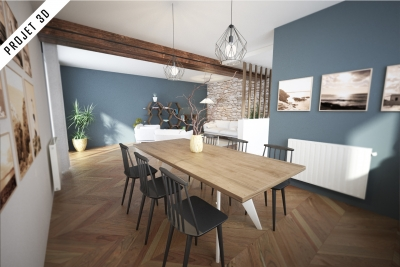Valorisation virtuelle (home staging 3D)